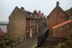Street in Whitby. Royalty Free Stock Photography