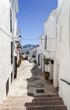 Street with pots Royalty Free Stock Photos