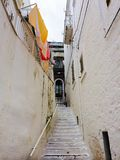 Street in the white village of Ostuni Royalty Free Stock Photography