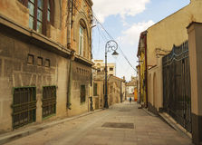 Street of the Wind the second narrowest street in Romania Royalty Free Stock Photo