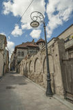 Street of the Wind the second narrowest street in Romania Stock Image