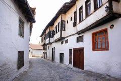 Free Street With Ottoman Style Houses In Kutahya Turkey Stock Photo - 23026650