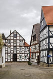 Street in Wolfhagen, Germany Stock Photography