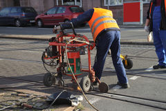 Street work Stock Photo