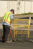 Street worker Royalty Free Stock Photos