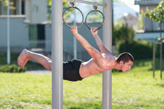 Street workout Royalty Free Stock Image