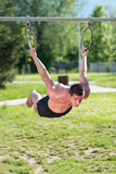 Street workout Royalty Free Stock Photography