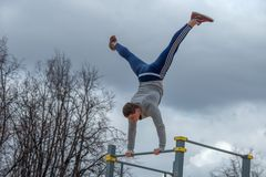 Street workout Stock Images