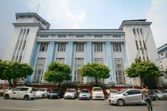 The street in Yangon, Myanmar Royalty Free Stock Images