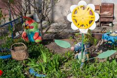 Free Street Yard Decoration With Toys Stock Photos - 182067413