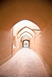 Street of of Yazd city . Royalty Free Stock Image