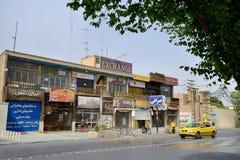 Street of Yazd, southern Iran Stock Photography