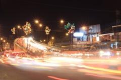 Street in Yogyakarta stock images