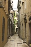 Street in zadar. Old town Stock Images