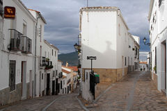 A street of Zahara de la Sierra Stock Photos