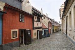 Street Zlata ulicka Stock Photo