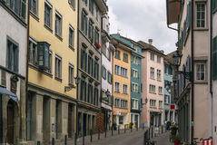 Street in Zurich Stock Images