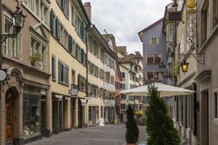Street in Zurich Stock Image