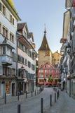 Street in Zurich Stock Photos
