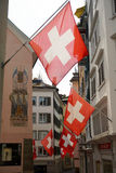 Street of Zurich, Switzerland Stock Image