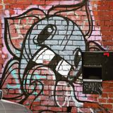 Streetart突变体花喷漆 图库摄影