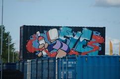 Streetart 3 Стоковая Фотография RF