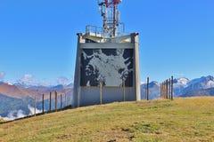 Streetart dans les montagnes, Autriche Images libres de droits