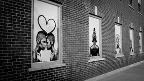 Streetart w Brooklyn obraz royalty free