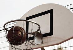 Streetball lizenzfreie stockfotos