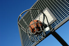 Streetball Photo libre de droits