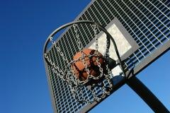 Streetball Στοκ φωτογραφία με δικαίωμα ελεύθερης χρήσης