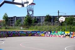 Streetball στοκ φωτογραφίες με δικαίωμα ελεύθερης χρήσης