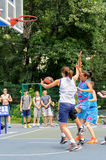 Streetball Fotos de Stock