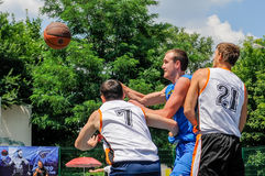 Streetball Fotos de Stock Royalty Free