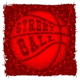 Streetball vektor abbildung