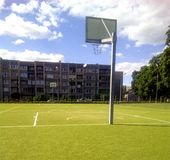 Streetball court Royalty Free Stock Images