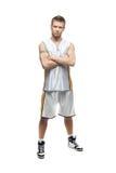 Streetball gracz Zdjęcia Stock