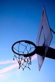 Streetball kosz Zdjęcie Stock