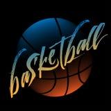 Streetball logo Zdjęcie Stock