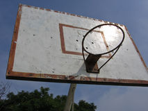 Streetball Rim Royalty Free Stock Image