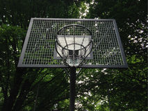 Streetball or street basketball basket Stock Images