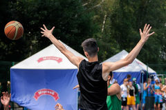 Streetball Royalty Free Stock Photography