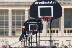 Streetbasket Imagen de archivo libre de regalías