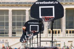Streetbasket Imagem de Stock Royalty Free