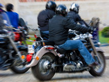 Streetbikers Royalty Free Stock Photo