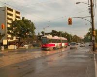 Streetcar, Торонто Онтарио Канада Стоковые Изображения