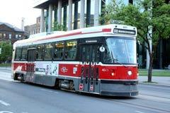 Streetcar Торонто Стоковая Фотография
