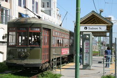 Streetcar Royalty Free Stock Photography
