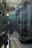 streetcar Arkivbilder
