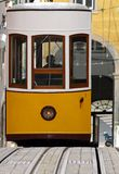 Streetcar. Tram in Lisbon Royalty Free Stock Photo